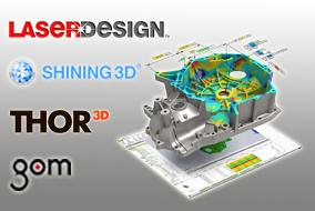 Leader 3D scanner manufactures