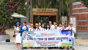 3D Smart Solutions - Hành trình đại gia đình hè 2020